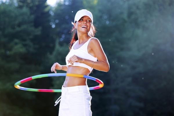 Хула-хуп для похудения – как правильно крутить обруч