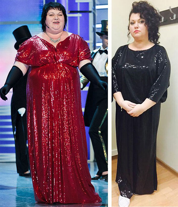 Похудевшая ольга картункова: диета, история похудения и фото