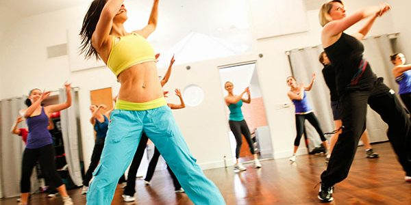 Видео-уроки Зумба фитнес для похудения