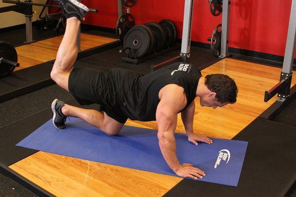 как начать ноги упражнение махи