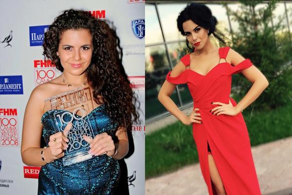 фото насти каменских до и после похудения