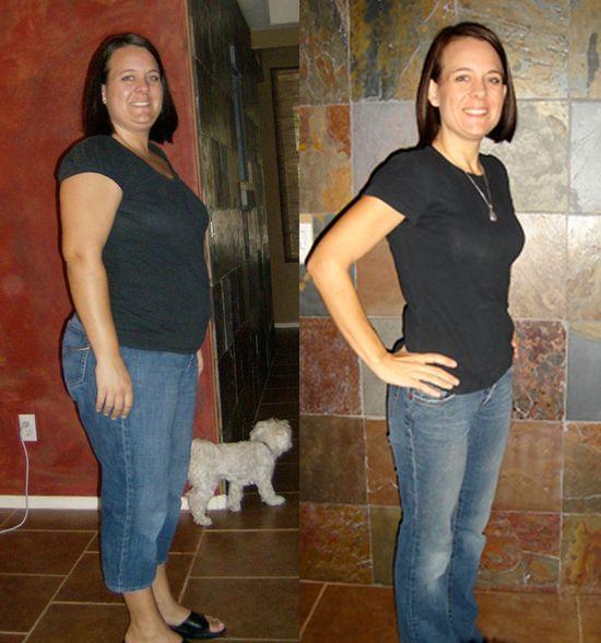 турбослим день ночь до и после похудения
