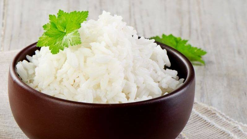 Калорийность вареного риса на воде