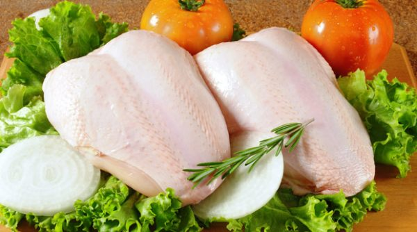 Количество калорий в куриной грудке