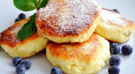 Запеченные сырники – кулинарный рецепт.