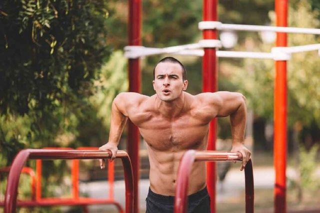 Отжимания на брусьях какие мышцы работают виды и техника выполнения схема и программа тренировок