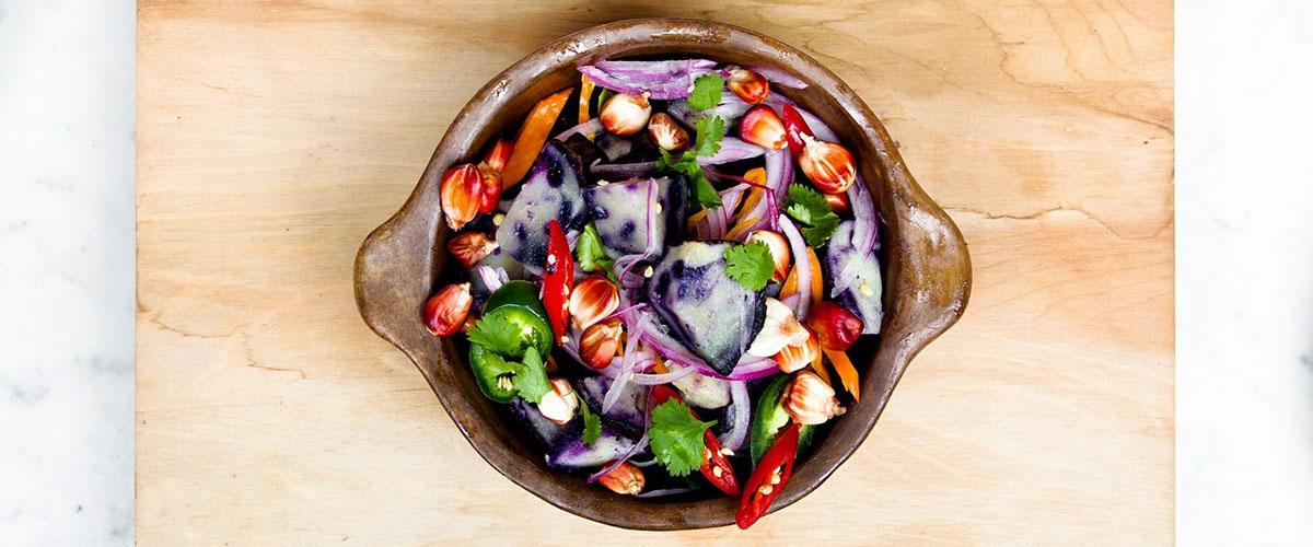5 салатов, которые не оставят вас голодными в Великий пост