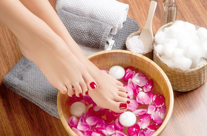 Ванночка для ног с глицерином