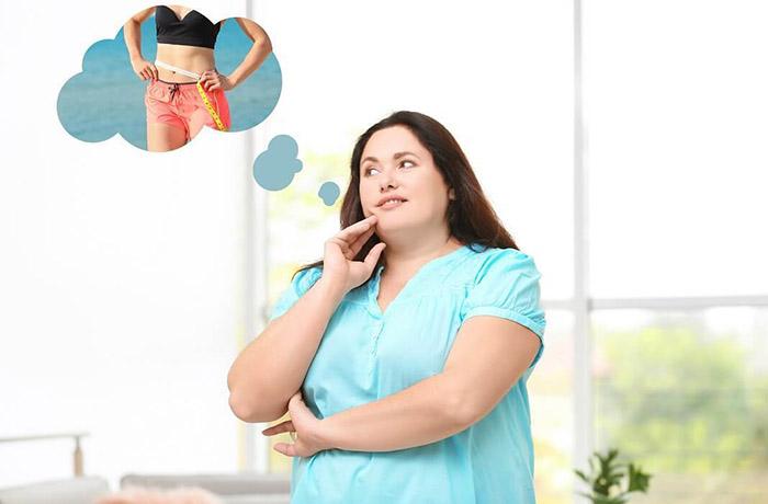 4 хитрости похудения: визуализация