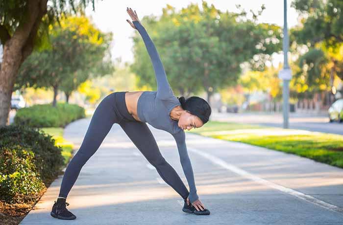 Фитнес на улице