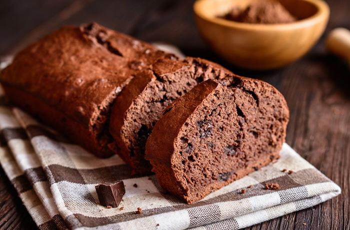 Шоколадный хлеб с кабачком
