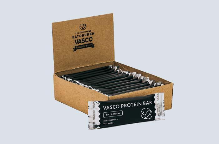 Протеиновые батончики Vasco