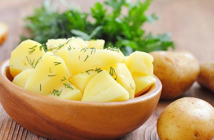 Калорийность отварного картофеля без масла