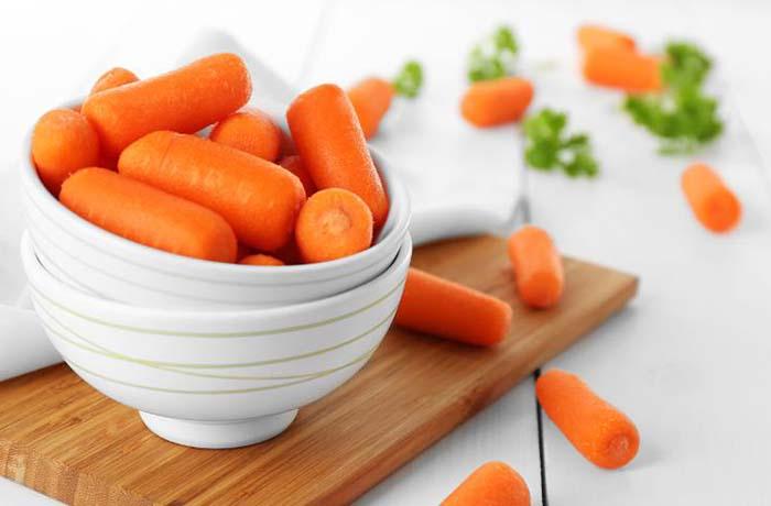 Калорийность свежей моркови (100 гр)