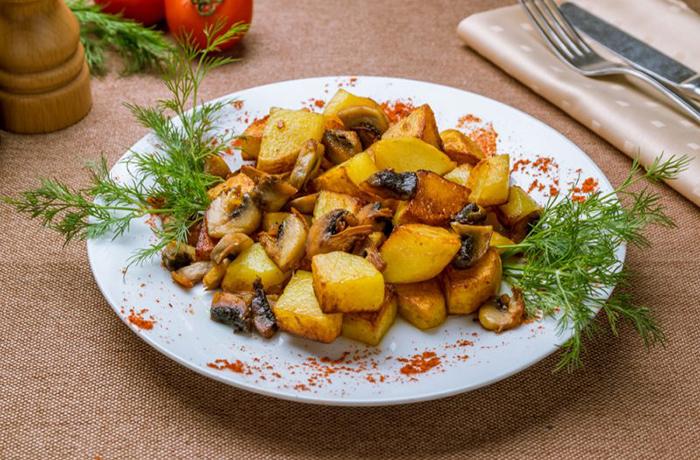 Сколько калорий в жареном картофеле на 100 гр