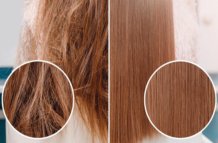 Масло усьмы для красивого блеска волос