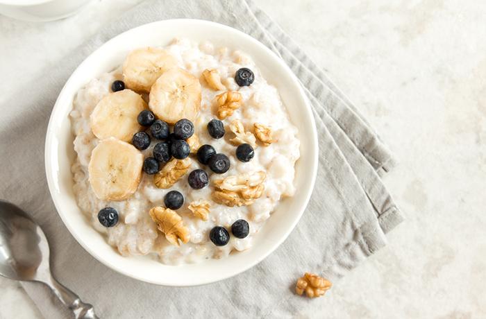 Овсянка на молоке: калорийность