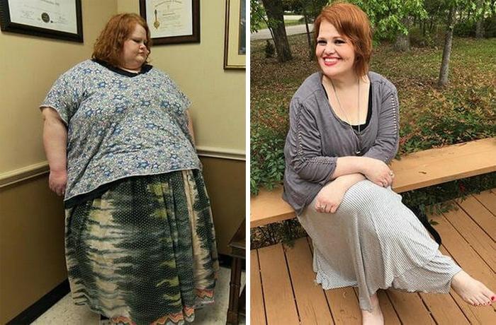 276-килограммовая американка похудела втрое благодаря телешоу и превратилась в красавицу