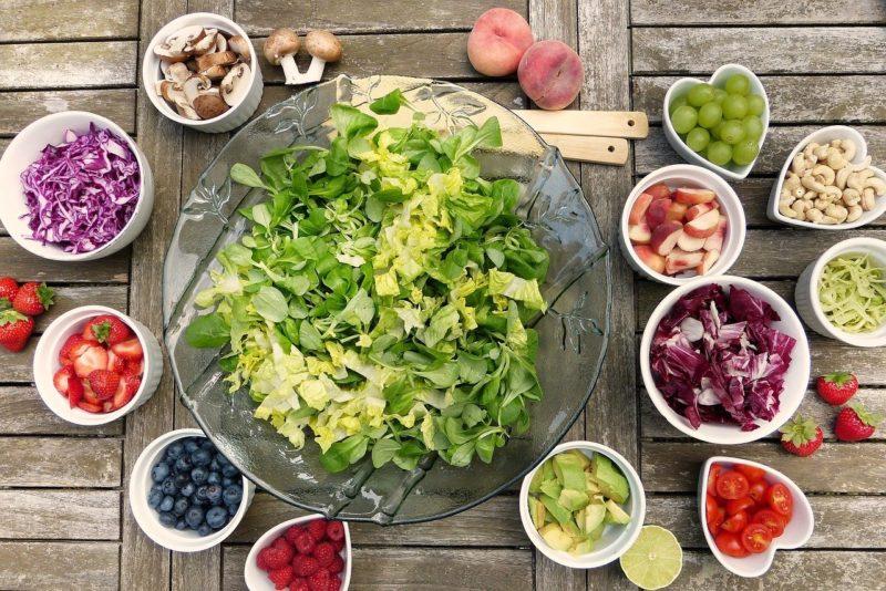 клетчатка, салат